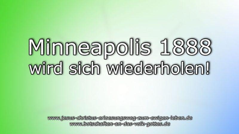 Minneapolis 1888 wird sich wiederholen!